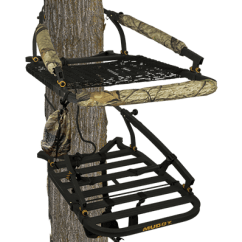 Swivel Chair Tree Stand Steel In Wwe Muddy Outdoors High Quality Stands Blinds And Hunting Climber Treestands The Outfitterthe Stalkerthe Woodsmanthe Vantage Point