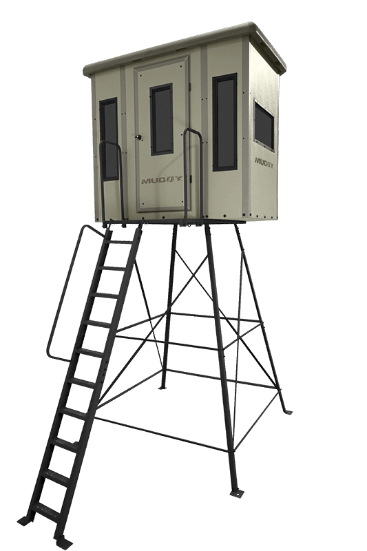 high chair deer stand small comfortable chairs box blinds muddy outdoors the penthouse blind