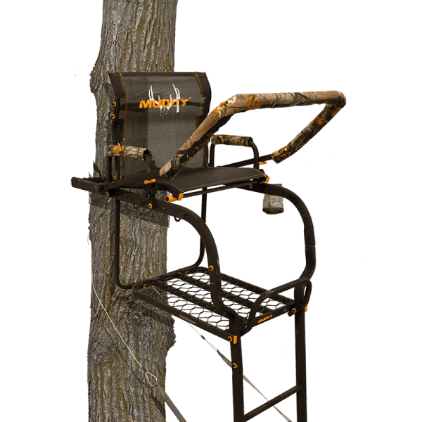 Tree Stands Muddy Outdoors