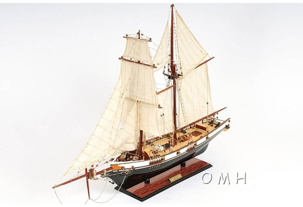 Baltimore Clipper Harvey 1800s Wooden Boat Replica