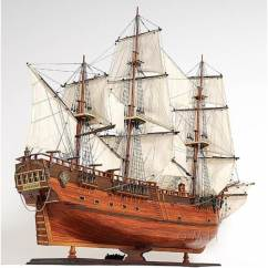 Chandeliers For Kitchen Home Styles Island Hms Endeavour Hand Crafted Wooden Tall Ship Model 38