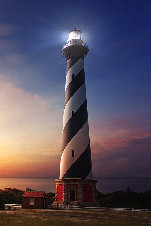 Beautiful Places by the Sea Cape Hatteras Lighthouse