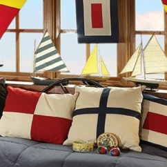 Beach House Living Room Decorating Ideas Purple Rooms Nautical Flags
