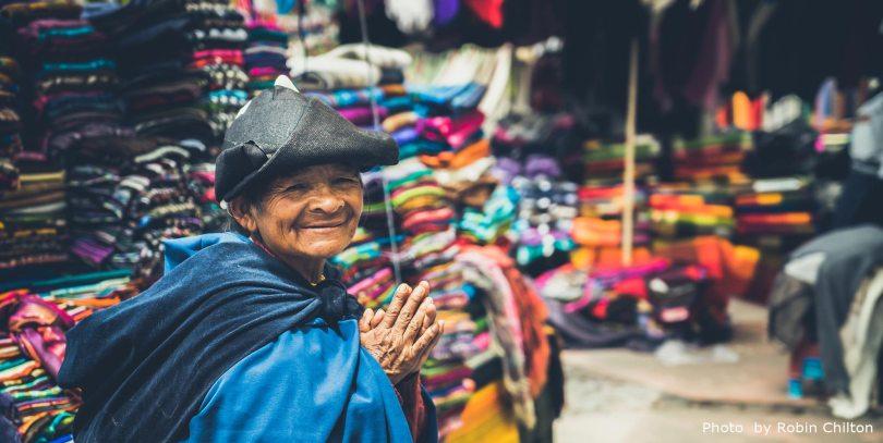Quechua Woman at Local Market