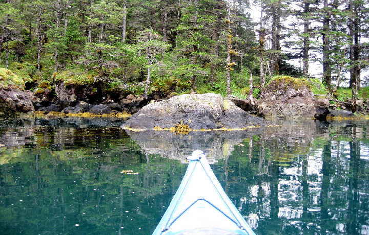 Kayaking is amazing in Alaska
