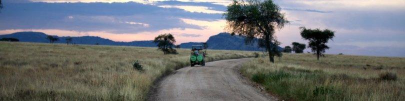Sunset in Serengeti National Park