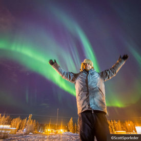 Our Guides Help You to Capture the Perfect Aurora Shot