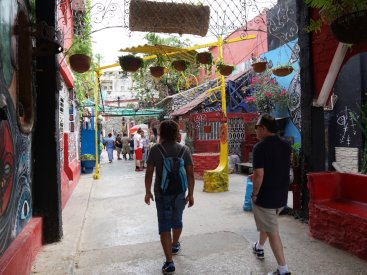 Exploring the streets of Havana
