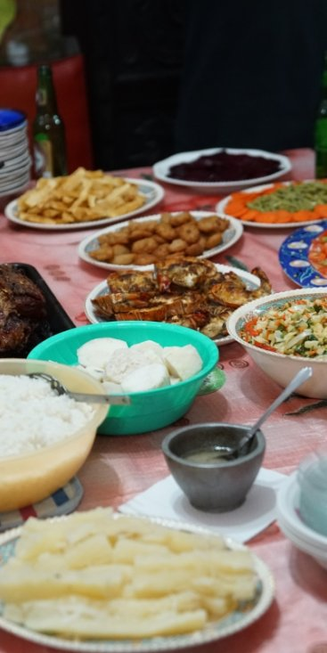 Enjoy authentic cuban food prepared for us by locals!