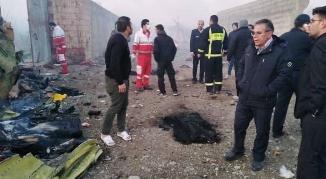 अमेरिका ईरान तनाव के बीच बोइंग 737 विमान टेक ऑफ के तुरंत बाद क्रैश में सभी 176 यात्रियों की दुखद मौत