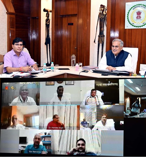 bhupesh-cabinet-meeting-video-confrence-24-march-2020