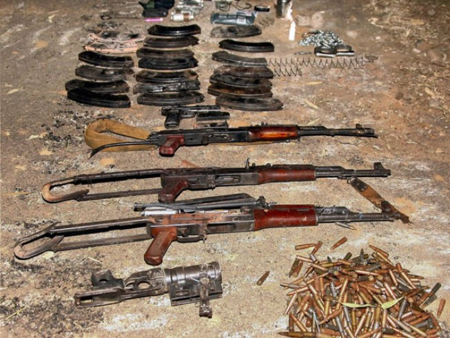 naxalite-weapons