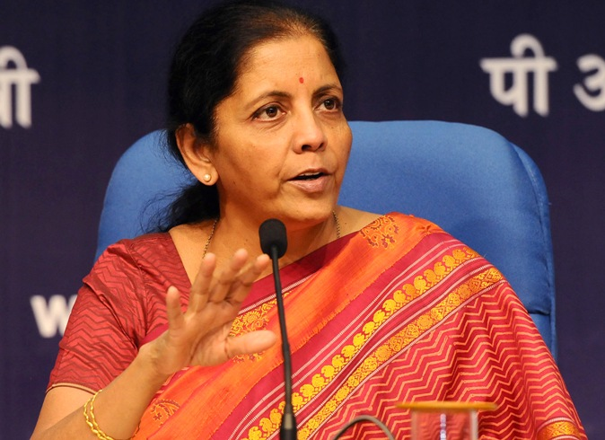 The Minister of State for Commerce & Industry (Independent Charge), Smt. Nirmala Sitharaman addressing a press conference, in New Delhi on October 14, 2016.