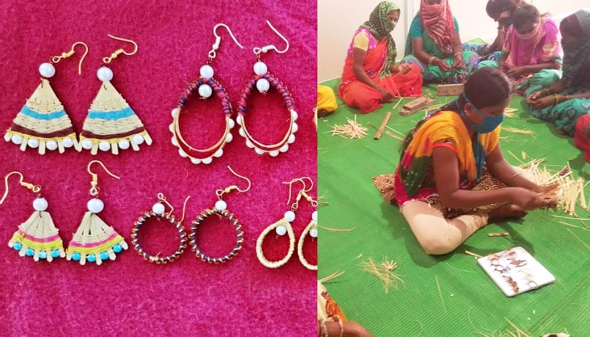 bastar-women-made-jwellery