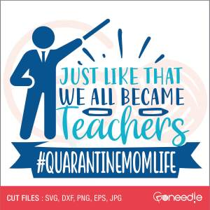 Just like that: we all became teachers