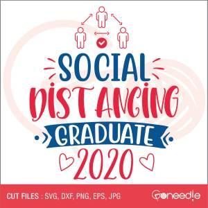 Social Distancing Graduate 2020