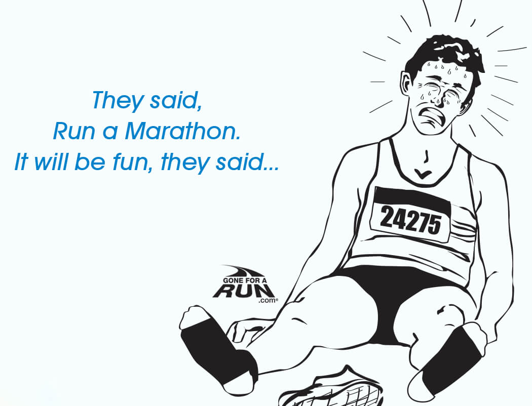 Mid Day Race Workout Comic