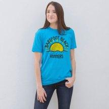 Running Short Sleeve T-shirt - Run Club Barefoot Beach
