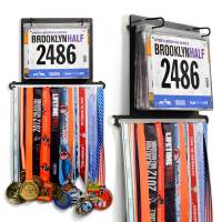 BibFOLIO Plus Race Bib and Medal Display for Runners
