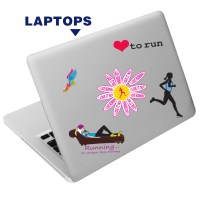 Runner's Stickers Reusable Stickers and Decals