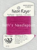 Neon Rays Dark Rose Pink N136