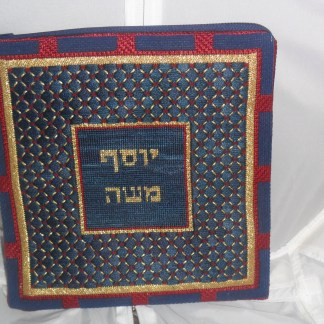 Navy and Wine Tefillin