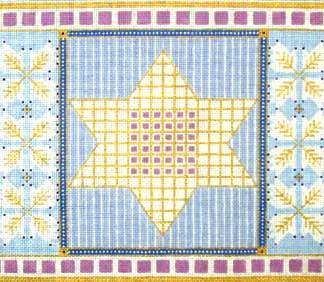 Blue Star Tallit