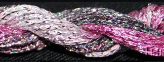 Threadworx Gray Flamingo #12 Braid Metallic