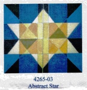 Abstract Star Tallit