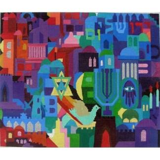 Jerusalem Mosaic Tallit