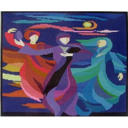 Dancing Miriam Tallit