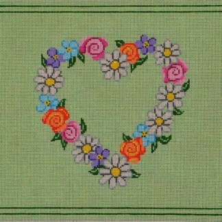 Floral Heart Tallit