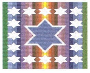 Stars and Stripes Tallit