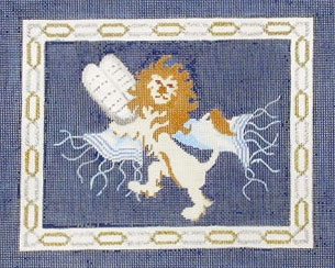 Lion with Tablets Tallit