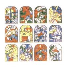 Chagall Windows White Tallis