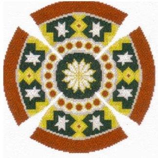 White Star Yarmulke