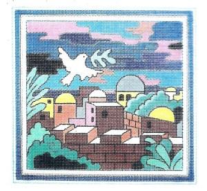 Square Dove Tefillin