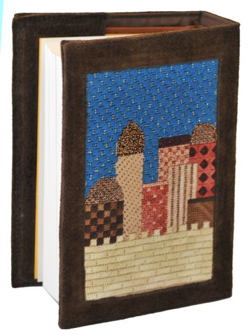 Jerusalem Siddur Cover (Earthtones)