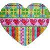 Plaid Hearts Stripes