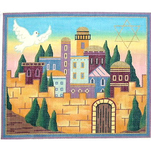 Dove Over Jerusalem Tallit