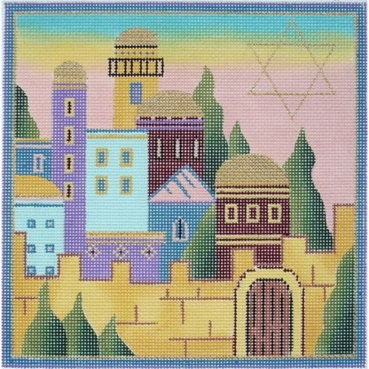 Dove Over Jerusalem Tefillin