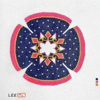 Geometric Star Yarmulke