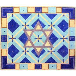 Star of David Tallit Diamond