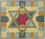 Star with tablets Tallit