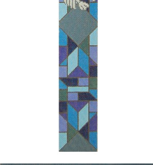 Stained Glass Doves Atarah Blue