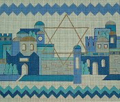 Shades of Blue Tallit