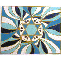 Star of David Tallit  in Blue