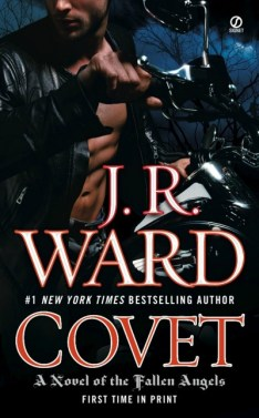 Giveaway: Covet (Fallen Angels #1) by J.R. Ward