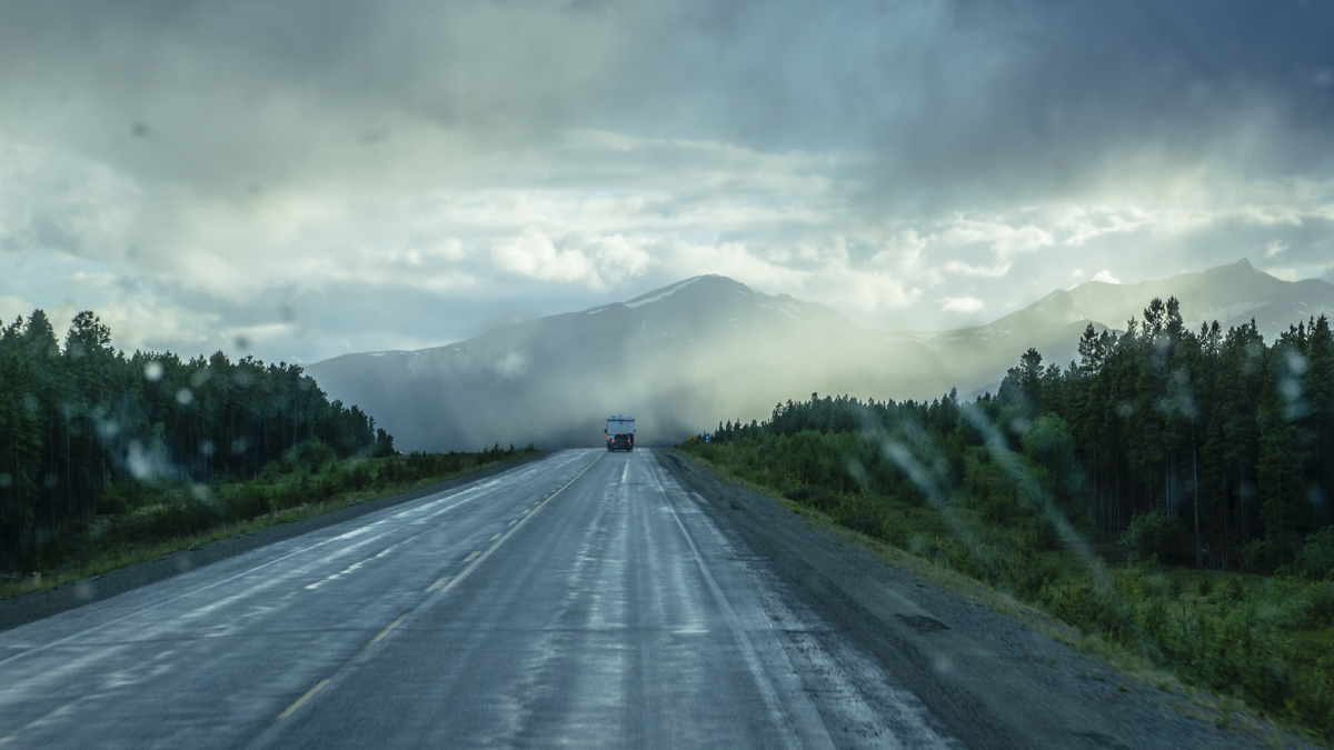 hight resolution of alaskan highway