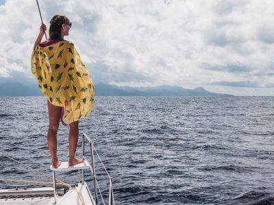 Blazing Hot Bora Bora - Sailing French Polynesia